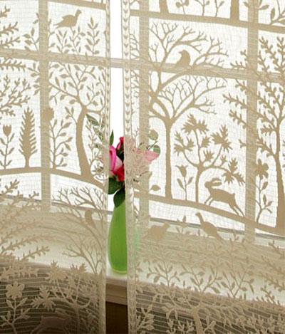 Heritage Lace Rabbit Hollow Valance 2 Colors