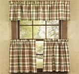 Park Designs Lemon Pepper Valances- 4 Styles
