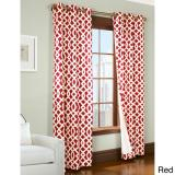 Commonwealth Home Fashions Trellis Insulated Grommet Pairs-4 Sizes and 5 Colors