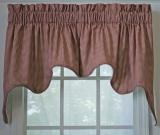Ellis Curtain Logan Check Empress Valance - 2 Colors