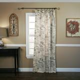 Ellis Curtain Script Tailored Panel