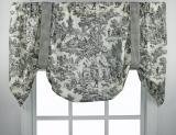 Ellis Curtain Victoria Park Tie Up Valance - 3 Colors